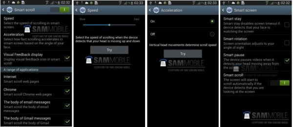 Samsung Galaxy S4 screenshots show new features