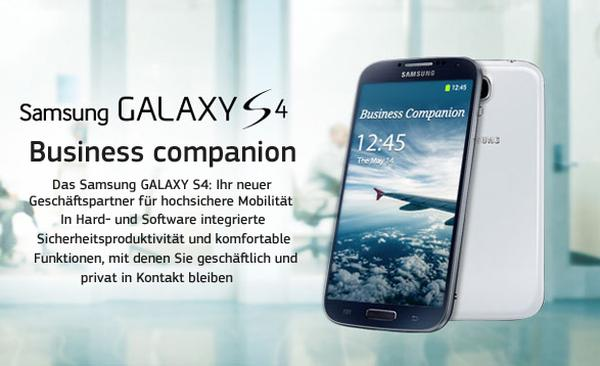 Samsung Galaxy S4 upgrade in European release