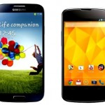 Samsung Galaxy S4 vs LG Nexus 4 – comparison importance