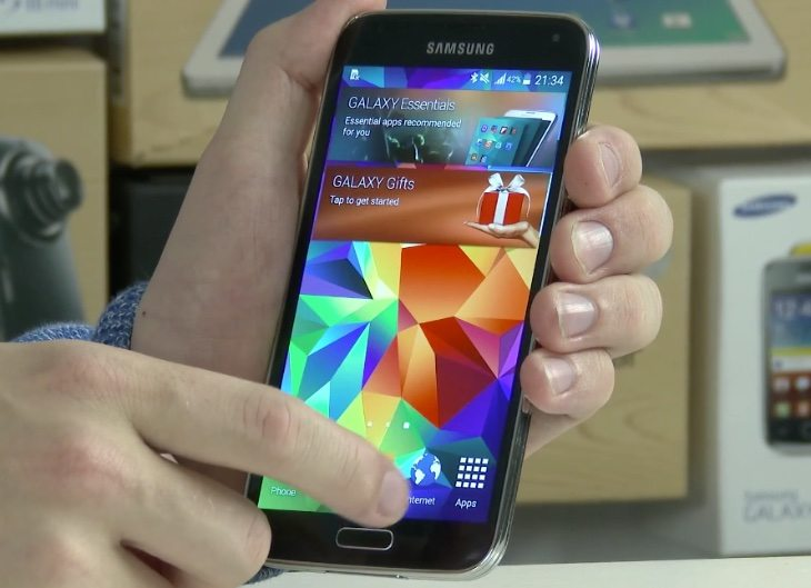 Samsung Galaxy S5 Android 5.0 Lollipop preview