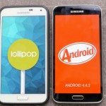 Samsung Galaxy S5 Lollipop vs S5 KitKat