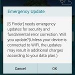 Samsung Galaxy S5, Note 3 emergency S Finder update arrives