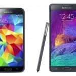 Samsung Galaxy S5, Note 4 update wait b