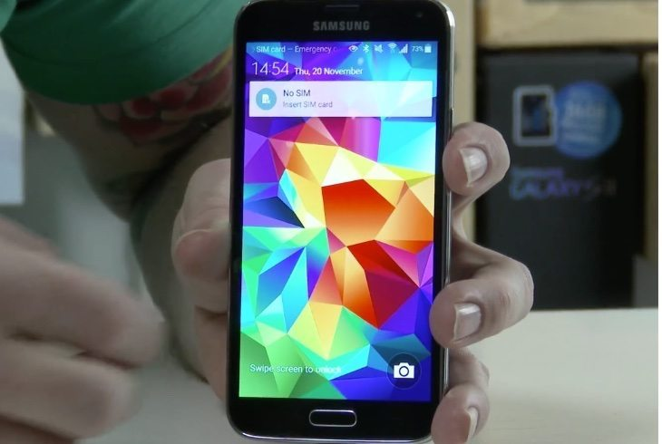 Samsung Galaxy S5 on Verizon US gets Lollipop