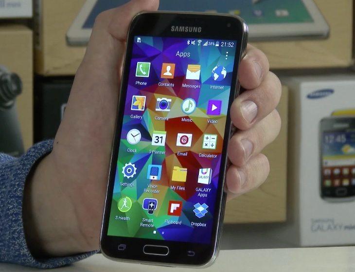 Samsung Galaxy S5 update