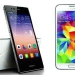 Samsung Galaxy S5 vs Huawei Ascend P7, strongest points