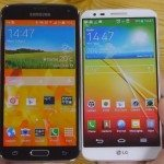 Samsung Galaxy S5 vs LG G2 video footage showdown