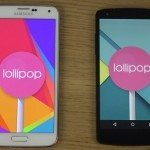 Samsung Galaxy S5 vs Nexus 5 b