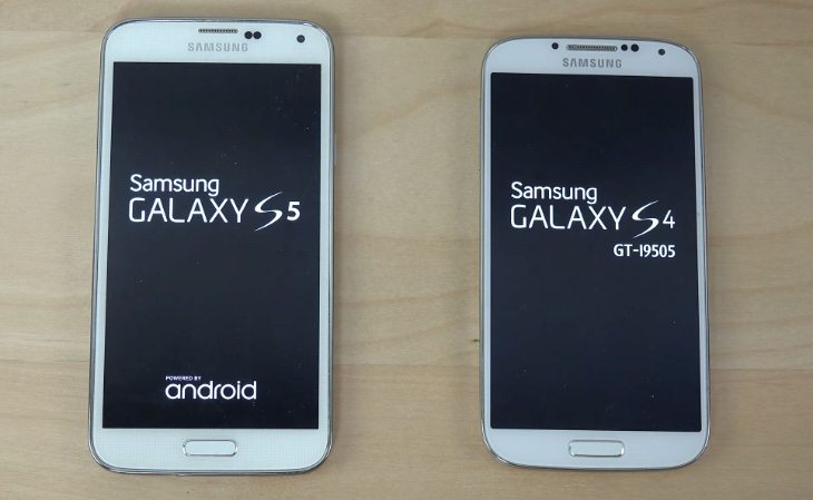 Samsung Galaxy S5 vs S4 Lollipop b