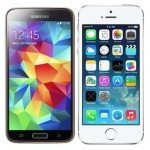 Samsung Galaxy S5 vs iPhone 5S video picks a winner
