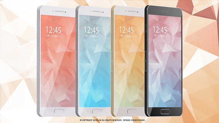 Samsung Galaxy S6 render tries to anticipate the upcoming phone
