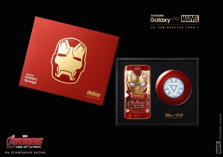 Samsung Galaxy S6 Edge Iron Man Edition b