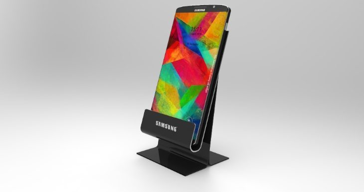 Samsung Galaxy S6 Edge design stand appeal