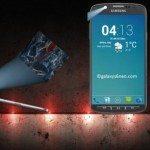 Samsung Galaxy S6 design projects forward