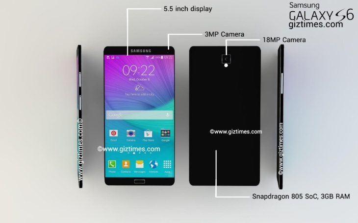 Samsung Galaxy S6 design is ultraslim and metal �� Phone Reviews