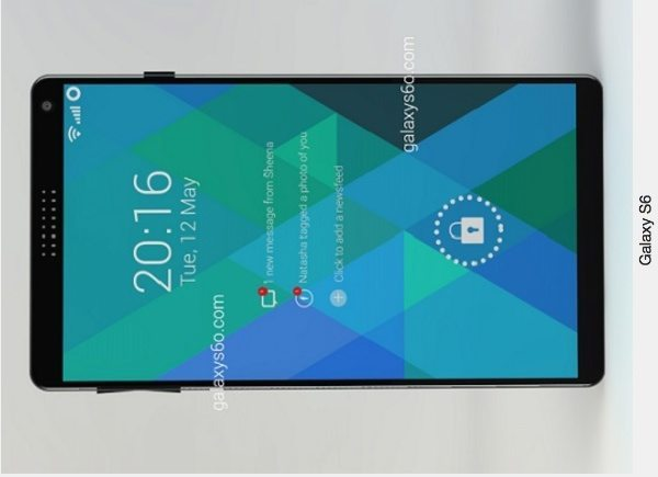 Samsung Galaxy S6 vision with optimistic specs b
