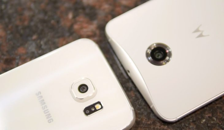 Samsung Galaxy S6 vs Nexus 6 b