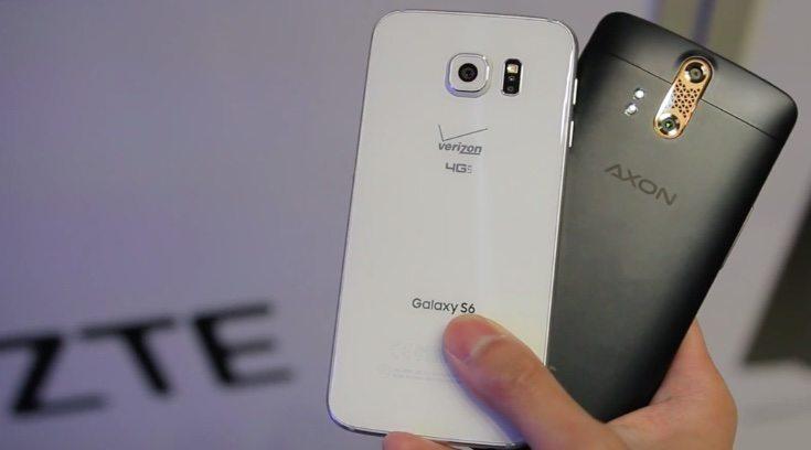 Samsung Galaxy S6 vs ZTE Axon