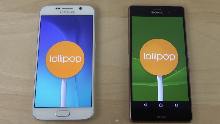 Samsung Galaxy S6 vs iPhone 6, Xperia Z3, Galaxy S5 b
