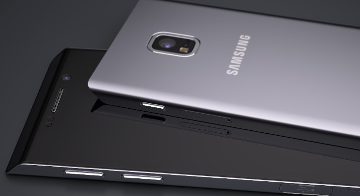 Samsung Galaxy S7 Edge vision stands out