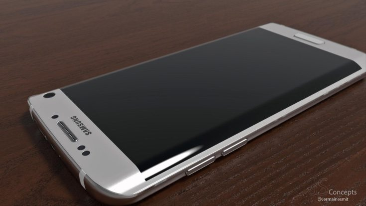 Samsung Galaxy S7 Edge design intro