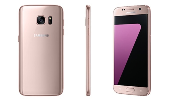 Samsung Galaxy S7 Pink Gold color choice introduced