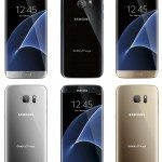 Samsung Galaxy S7 and S7 Edge colors shown in newest renders