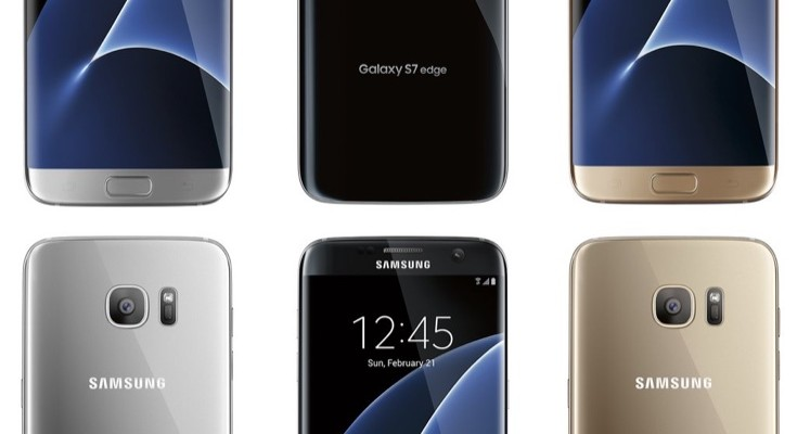Samsung Galaxy S7 and S7 Edge b