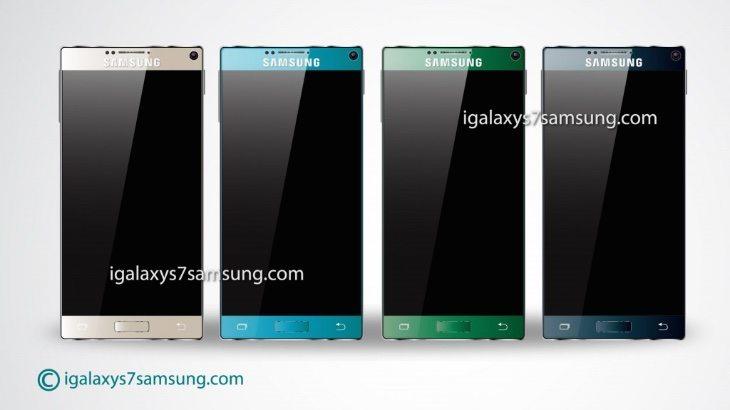Samsung Galaxy S7 vison c