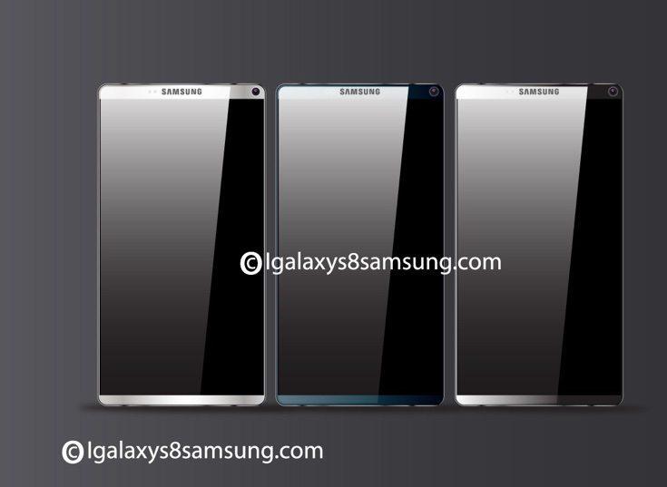 Samsung Galaxy S8 design b