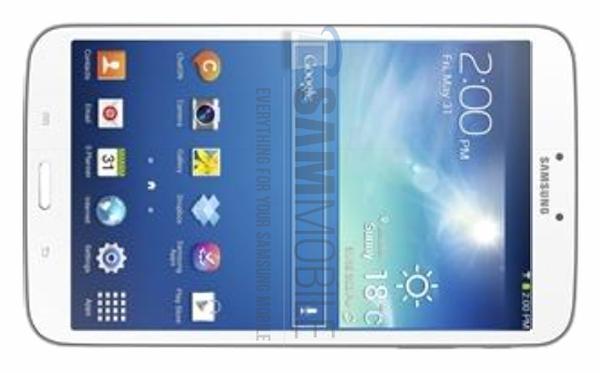 Samsung Galaxy Tab 3 8.0 specs leak