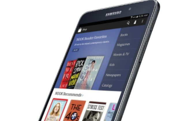 Samsung Galaxy Tab 4 Nook announced from BN partnership
