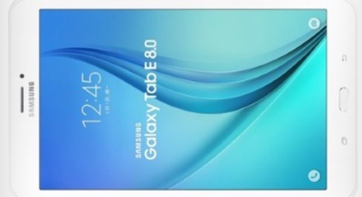 Samsung Galaxy Tab E 8.0 specs and price before availability