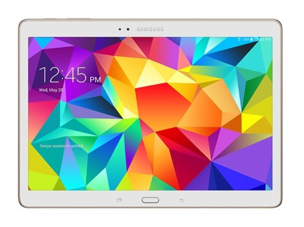 Samsung Galaxy Tab S 10.5 vs iPad Air, advantages shown b