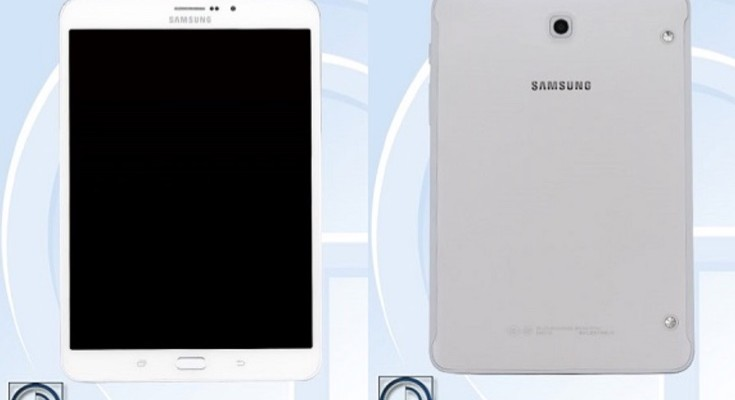 Samsung Galaxy Tab S3 8.0 TENAA spot shows specs and images