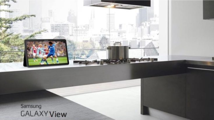 Samsung Galaxy View specs and price b