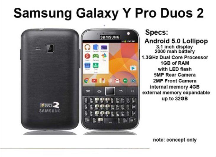 Samsung Galaxy Y Pro Duos b