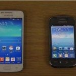 Samsung Galaxy Young vs Galaxy Core Plus in speed video