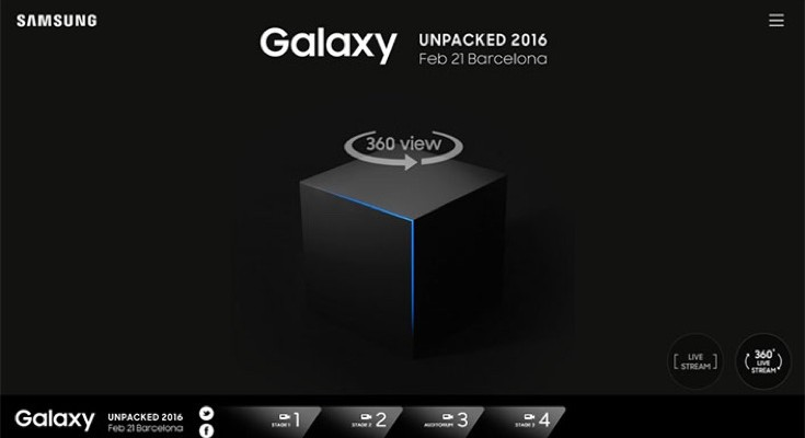 Samsung Unpacked event time worldwide for Galaxy S7 live stream