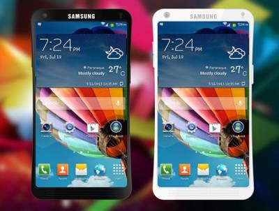 Samsung design could be Galaxy S6 or Note 4