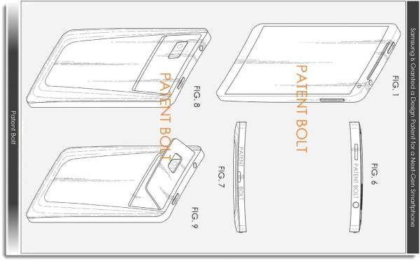 Samsung patent hints at Galaxy S4 Zoom with curved display