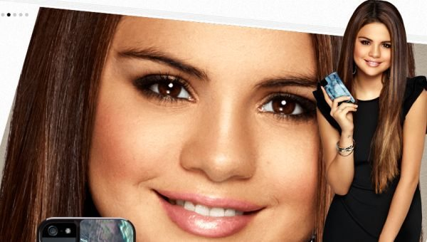 Selena Gomez iPhone 5 case in collaboration