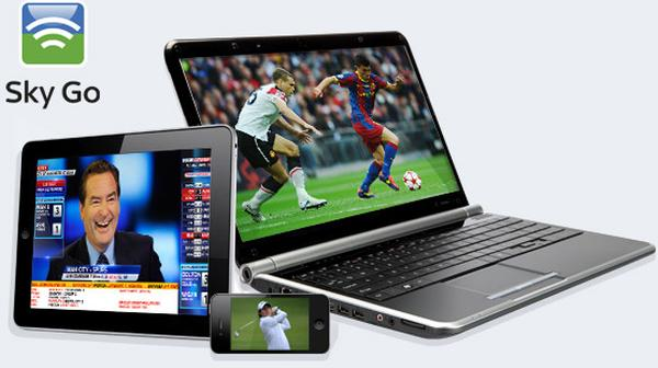 Sky Go app in welcome update before 2014 World Cup