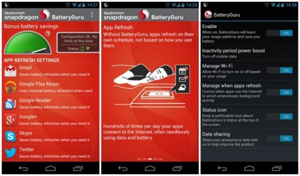 Snapdragon BatteryGuru app update adds new features