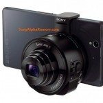 Sony DSC-QX10 and DSC-QX100 camera lenses for smartphones