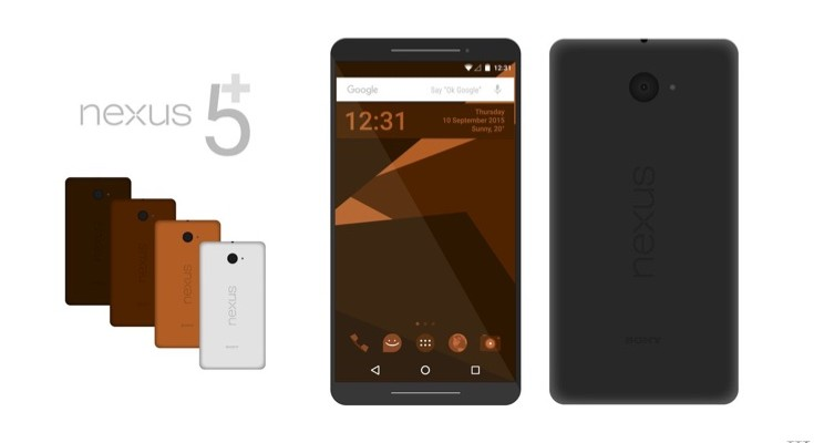 Sony Nexus 5 Plus concept