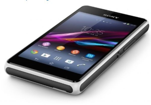 Sony Xperia E1 Dual user manual now available