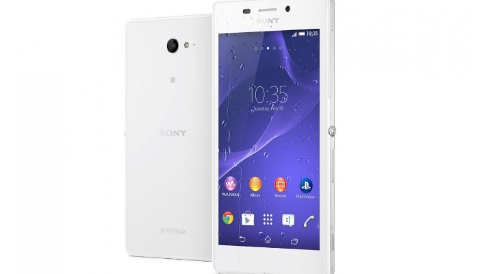 Sony Xperia M2 and M2 Aqua Android Lollipop update