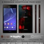 Sony Xperia N design has color appeal