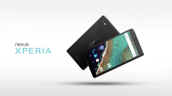 Sony Xperia Nexus design